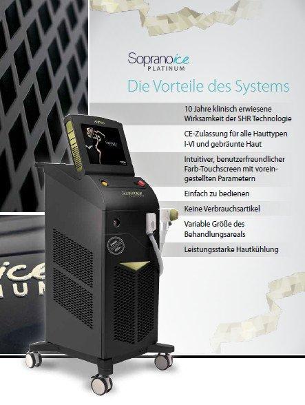 Soprano Laser Haarentfernung in Bielefeld